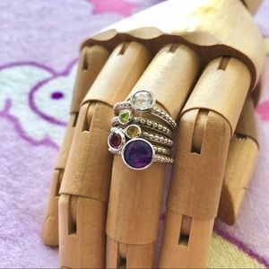 Jewelry - Sterling Silver Ring Set